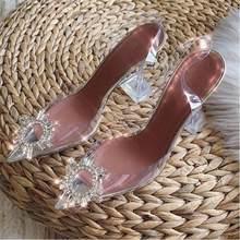 Прозрачные сандалии; Mujer; необычные босоножки на высоком каблуке; женская летняя обувь для вечеринок; sandalia feminina; роскошная женская обувь; ...(Китай)