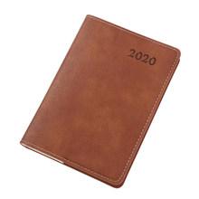 А6 еженедельник с календарем 2020, дневник, школьный блокнот, канцелярские принадлежности, дневник s 9,8*13,8 см(Китай)