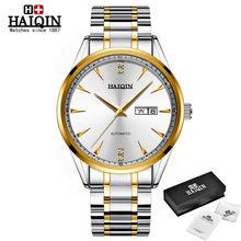HAIQIN 2020 новые мужские часы, лучший бренд, роскошные модные автоматические часы, мужские полностью стальные механические водонепроницаемые ч...(Китай)