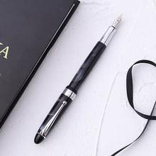 Чернильная ручка Sikib, красивая ручка с вихревым наконечником, конвертер наполнителя, винтовая крышка, школьные письменные принадлежности д...(Китай)