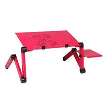 Складной регулируемый эргономичный дизайн коврик для мыши стол для ноутбука настольная подставка Подставка лоток для нетбука или компьюте...(China)
