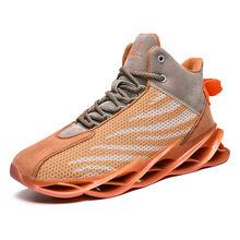 Мужская Роскошная Брендовая обувь для бега, удобные дышащие уличные кроссовки, повседневная мужская обувь для баскетбола со средним и высо...(Китай)