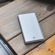 Bycobecy 2020 визитница металлическая нержавеющая сталь креативный офисный алюминиевый карточный пакет держатель для кредитных карт Rfid кошелек(Китай)