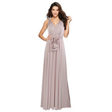 Сексуальное женское многоканальное платье-трансформер в стиле бохо, макси, Клубное Бандажное платье, длинное платье, вечерние платья подру...(Китай)
