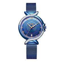 SUNKTA 2020 часы женские новые роскошные брендовые Модные женские наручные часы из нержавеющей стали черные наручные часы для женщин Montre Femme(Китай)