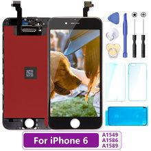 Белый и черный пожизненная гарантия AAAAA для iPhone 6 S плюс 6 S + 5,5 ''ЖК-дисплей сенсорный экран дигитайзер сборка с 3D сенсорны(Китай)