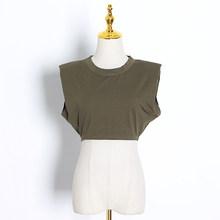 Sleeveless Summer White Loose Women's T-Shirt Cotton O Neck Camis Solid Black Female Tops 2020 Streetwear Casual Ladies t Shirts(Китай)