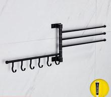 Lohner оптовая продажа алюминиевая вращающаяся стойка для полотенец подвижная полка для ванной комнаты с отверстиями Складная полка для душа ...(Китай)