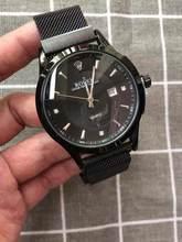 Топ люксовый бренд WINNER черные часы Мужские Женские повседневные мужские часы деловые спортивные военные часы из нержавеющей стали 987(China)