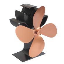 Печь вентилятор для камина древесины бревен горелки мощность ed экологический вентилятор для камина тепловой мощности вентилятор для печи, ...(China)
