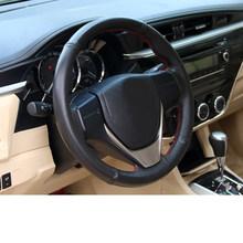 Lsrtw2017 для Защитные чехлы для сидений, сшитые специально для Toyota Corolla E210 чехол рулевого колеса автомобиля Декоративные интерьерные аксессуар...(China)