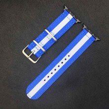 Хит продаж, нейлоновый ремешок Nato для iWatch5 4 3 2 1 для Apple Watch Band 44 мм 40 мм ремешок для часов 38 мм 40 мм Радужный браслет на запястье(Китай)