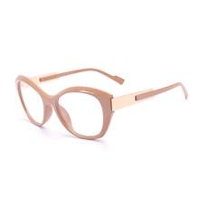SO & EI модные женские очки с кошачьими глазами, оправа ярких цветов, прозрачные линзы, очки для женщин, оптическая оправа для очков для близору...(Китай)