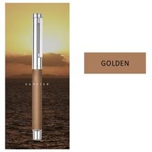 HongDian волнистый узор из нержавеющей перьевой ручки, Iridium EF/ F Nib классическая ручка подарок(Китай)