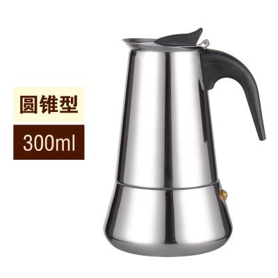 Кофеварка, кофе, принимающих в итальянском стиле топ Moka эспрессо Cafeteira Кофеварка 100/200/200/450 мл кофеварка для приготовления кофе на плите горшо...(Китай)
