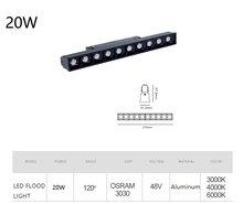 Bluetooth умная Регулируемая магнитная лампа алюминиевая 1 м утопленные рельсовые полосы потолочные магнитные светильники IOS /Android(Китай)
