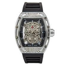 Роскошные стальные большие часы DZ digite Rlo dz, автоматическое отображение даты и недели, светящиеся часы для дайвинверов, наручные часы из нерж...(Китай)