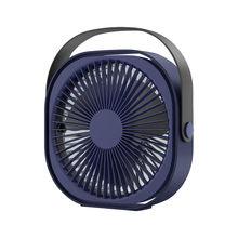 6-дюймовый USB мини-вентилятор креативный 3-скоростной Регулируемый мини-вентилятор домашний бесшумный портативный Настольный вентилятор дл...(Китай)