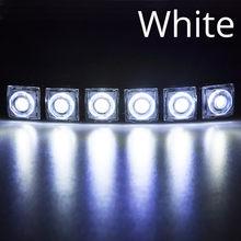Светодиодный светильник дневного света гибкий светодиодный DC 12V Универсальный Авто COB SMD с объективом противотуманный светильник Авто Стай...(Китай)