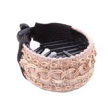Корейские женские заколки для волос, элегантные вязанные крючком заколки для волос, большие заколки для волос, заколки для волос в виде бана...(Китай)
