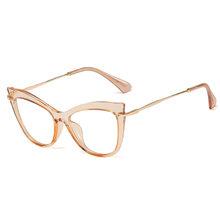 SO & EI винтажные кошачьи глаза TR90 женские очки оправа прозрачные линзы очки трендовые женские оптические очки для близорукости по рецепту(Китай)