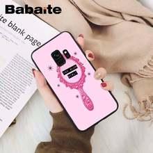 Babaite милый мощный эстетический мягкий черный чехол для телефона Samsung GALAXY S9 plus S3 S6 7 8 9 S10 E S9(Китай)