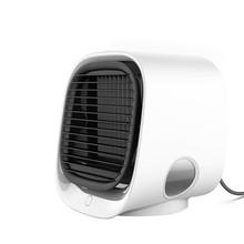 Портативный кондиционер, портативный мини-охладитель воздуха, кондиционер, светодиодный светильник, увлажнитель, очищает вентилятор возду...(China)