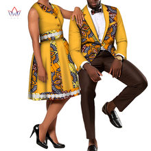 Комплект одежды для пар с принтом в африканском стиле; Комплект с юбкой для женщин и мужчин; Блейзер; Мужской костюм; Женское платье; Одежда д...(Китай)