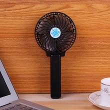 Новинка 2020 Портативный Ручной мини вентилятор складной охлаждающий спрей перезаряжаемый вентилятор для путешествий и пляжа портативный н...(Китай)