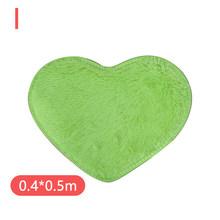 Любовь в форме сердца коврик нескользящий мягкий микрофибра коралловый флис ванная комната пол коврик для гостиной ковровый Декор(Китай)