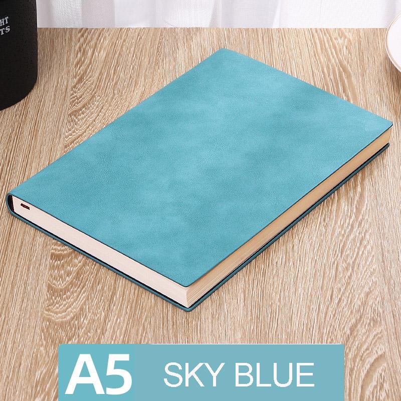 А5, мягкая кожаная обложка, Библейский блокнот, милый планировщик, ежедневник, 2020, 2020, недельный планировщик, для путешественников, простой б...(Китай)