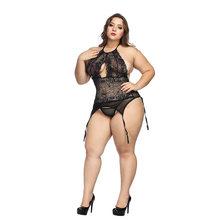 Женская одежда больших размеров Ropa Sexy Para El Sexo, дамское нижнее белье, сексуальное ночное белье, ночная рубашка с открытой спиной, ночное белье(Китай)