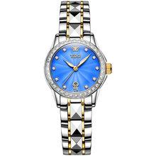 Модные женские часы Лидирующий бренд Luxruy OLEVS автоматические часы женские водонепроницаемые спортивные часы женские кожаные деловые наручн...(China)