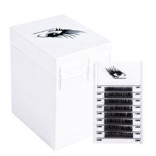 5 Layers Lashes Display Stand Organizer Box False Eyelashes Glue Pallet Eyelash Extension Makeup Tool Eyelash Storage Box 550g(China)