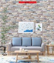 3D Кирпич 10 м обои водонепроницаемый самоклеющиеся ПВХ стикер стены papel де parede для декора стен(Китай)