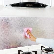 Кухня жиронепроницаемый, водонепроницаемый стикер кухонная духовка алюминиевая фольга самоклеющаяся Наклейка на стену DIY обои(Китай)