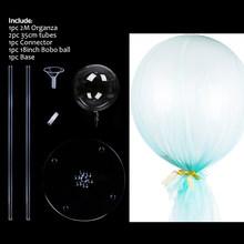 MEIDDING 1 шт. воздушные шары для вечеринок с 20 светодиодными прозрачными ПВХ воздушными шарами с днем рождения вечеринки свадьбы украшения фес...(Китай)