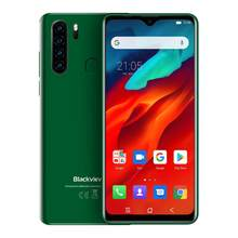 Мобильный телефон Blackview A80 Pro, 4G, четырехъядерная задняя камера, 4 Гб + 64 ГБ, Android 9,0, экран 6,49 дюйма, 4680 мАч, глобальная версия(China)