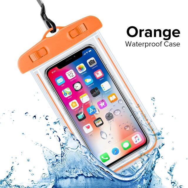 Универсальный Водонепроницаемый Чехол INIU IP68 ДЛЯ iPhone XS Max XR X 8 7 6 Plus Samsung S10 S9 S8, водонепроницаемая сумка, чехол для мобильного телефона(Китай)