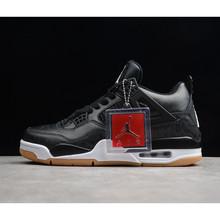 Nike Air Jordan 4 Denim AJ4 дышащая мужская Баскетбольная обувь, Новые поступления, подлинные спортивные кроссовки, обувь для баскетбола, обувь для спо...()