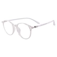 Мужские и женские прозрачные очки, легкие винтажные круглые цельные оправы TR90, оправы для очков по рецепту, прогрессивные монофокальные лин...(Китай)