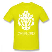 Футболка Overlord, футболка Overlord аниме Guild Emblem Ainz Ooal, Футболка Graphic с коротким рукавом футболка Man Oversize(Китай)