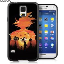 MaiYaCa аниме Гоку Супер Saiyajin Dragon Ball Z телефонные чехлы для samsung S5 S6 S7 edge S8 S9 S10 Plus Lite Note 9 5 8 чехол(Китай)