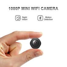 Мини-камера HD 1080P, Wi-Fi, умная с ночным видением, детектор движения, диктофон, hd Беспроводная маленькая камера, скрытая TF(Китай)