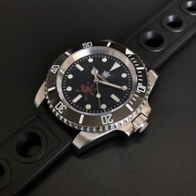 Часы STEELDIVE 1954, Oman, специальный дизайн, 200 м, водонепроницаемые, NH35, сапфир, автоматические часы, C3, светящиеся мужские часы для дайвинга(Китай)