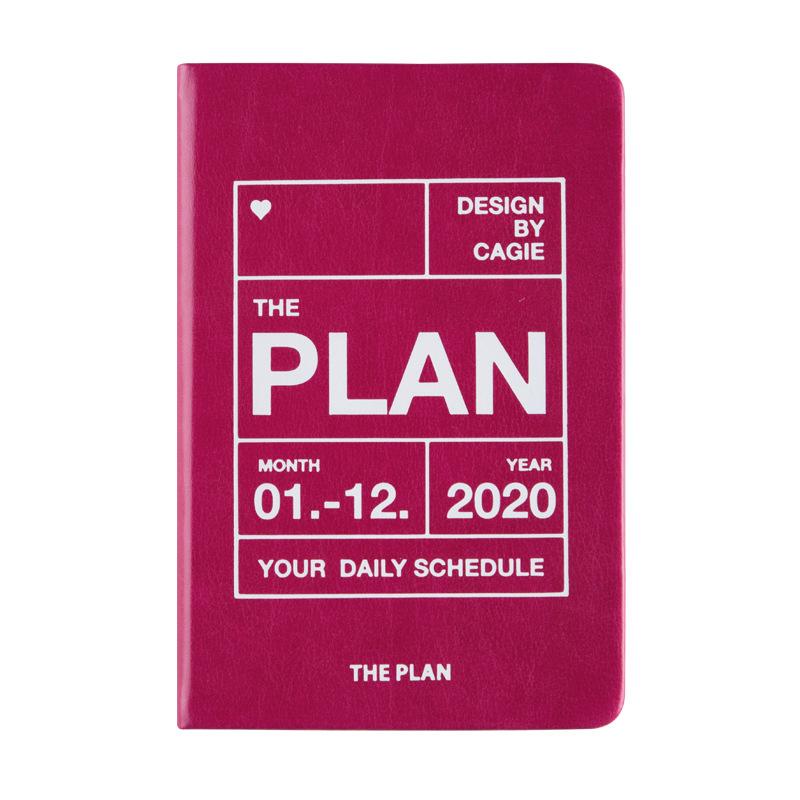 Agenda 2020 планировщик A7 мини дневник Органайзер карманный блокнот дневники еженедельные бизнес ежедневный план путешествия записная книжка ...(Китай)