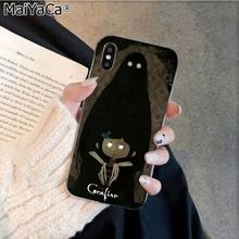MaiYaCa Coraline и Волшебная Дверь рукоделие принт рисунок телефона чехол для Apple iphone 11 pro 8 7 66S Plus X XS MAX 5s SE XR(Китай)