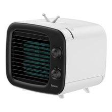 Baseus портативный кондиционер 3 скорости USB вентилятор мини-охладитель воздуха для дома и офиса увлажнитель очиститель Настольный вентилятор(Китай)
