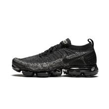 Оригинальные оригинальные мужские кроссовки для бега Nike Vapormax Flyknit 2,0, спортивные уличные кроссовки, спортивная Дизайнерская обувь 942842-002(Китай)