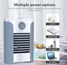 1 Набор 3-скоростной USB мини-вентилятор Arctic Air ультра компактный портативный испарительный воздушный охладитель бытовой мини-кондиционер Пр...(Китай)